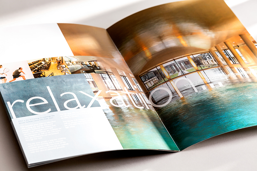 Printing Relaxation Brochure- Mint Leeds