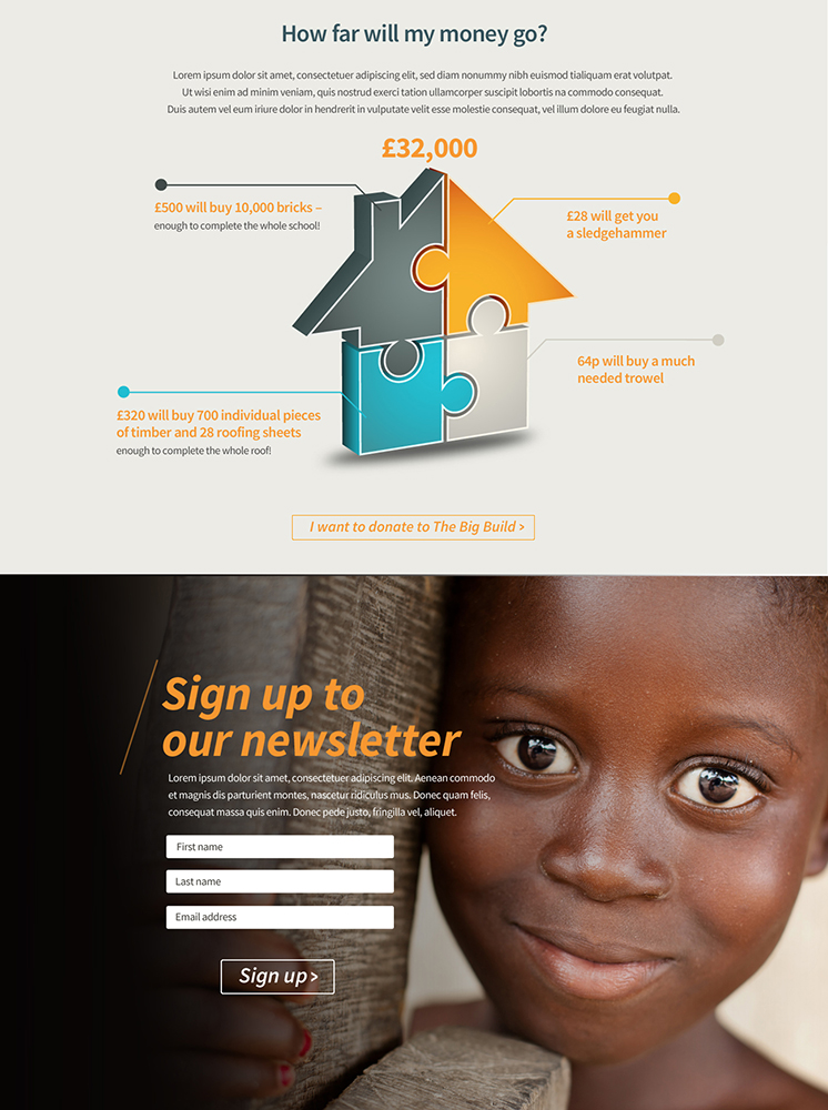 Family of Hope Website- Mint Leeds