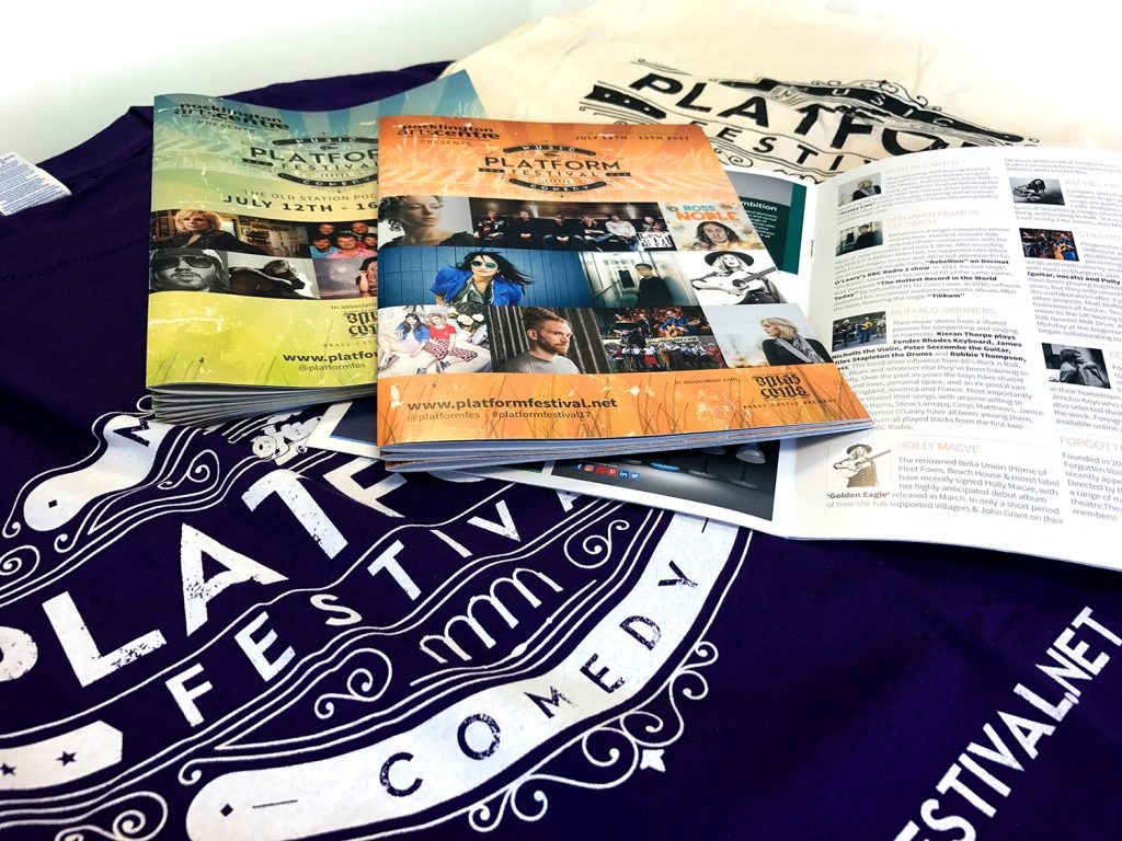 Platform Festival Promotional Material Design